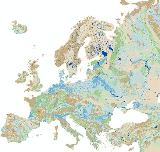 Internationale Hydrogeologische Karte von Europa 1:1.500.000 ...